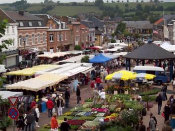 marché à Aubel
