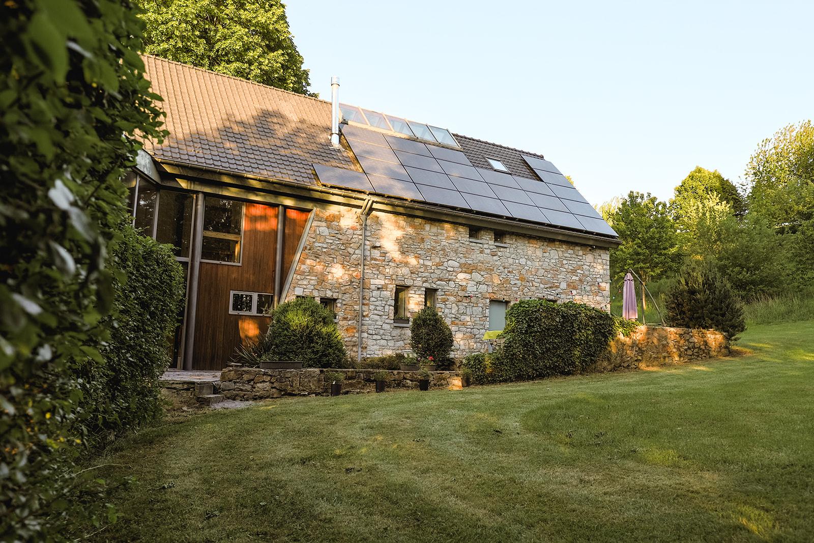 Photo de la maison vue de l'arrière